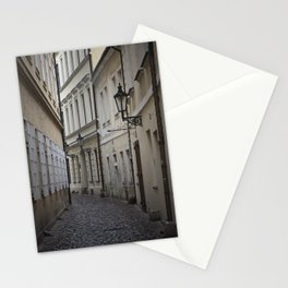 Alleyway in Prague Stationery Cards