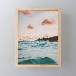 summer sunset iv Framed Mini Art Print