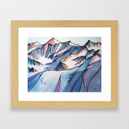 Bucket List Framed Art Print