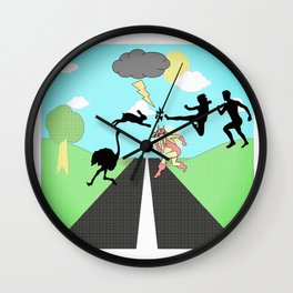 you're not paranoid (they are out to get you) Wall Clock