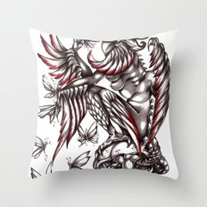 Butterfly's diet Throw Pillow