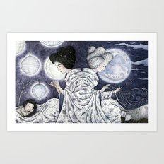 Duality Discovered Art Print