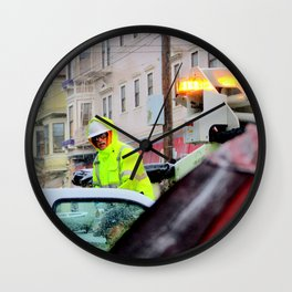 One Rainy Day Wall Clock