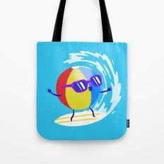 Lets Surf The Ocean Together! Tote Bag