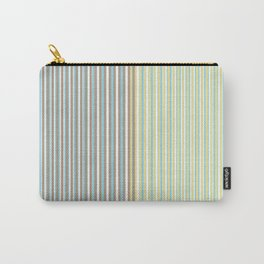 Warm and Cool stripes Carry-All Pouch