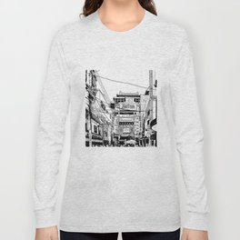 Yokohama - China town Long Sleeve T-shirt