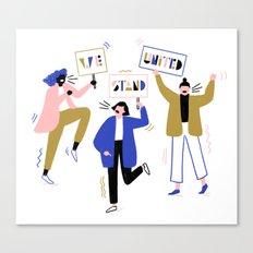 Women's March Canvas Print