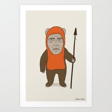 Ewoken Art Print