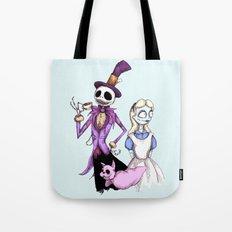Nightmare In Wonderland Tote Bag