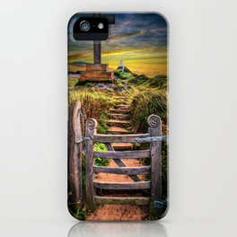Gate to the Holy Island iPhone Case