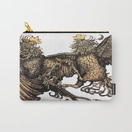 Two Kings - Roosters Carry-All Pouch