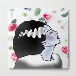 Bride of Floralstein Metal Print