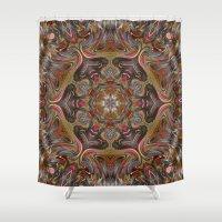 oriental Shower Curtains featuring Oriental evening,  by MehrFarbeimLeben