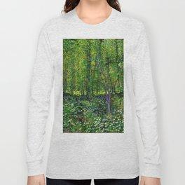 Vincent Van Gogh Trees & Underwood Long Sleeve T-shirt