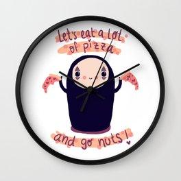kaonashi fan-art Wall Clock