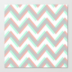 ECHO CHEVRON Canvas Print