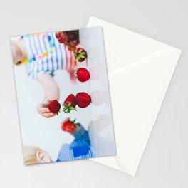 Strawberry Stack Stationery Cards