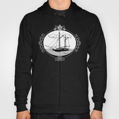 Sailing Ship Oval Hoody