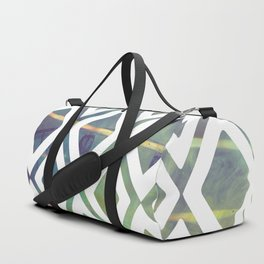 Noria and geometric forms Duffle Bag