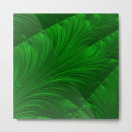 Renaissance Green Metal Print
