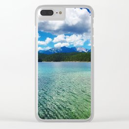 Glorious Eibsee Clear iPhone Case