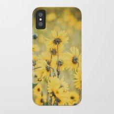 Wild About Saffron iPhone X Slim Case