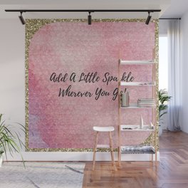 Add a little sparkle wherever you go! Wall Mural