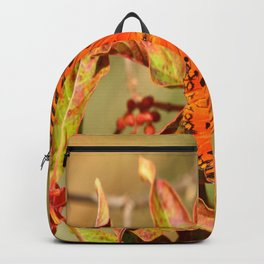 Butterfly In The Glades - Gulf Fritillary Backpack