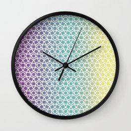 Gravity Tesselation Wall Clock