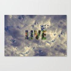 Live! Canvas Print
