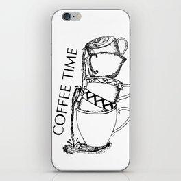 Coffe time iPhone Skin