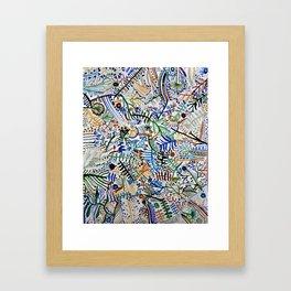 za. Framed Art Print