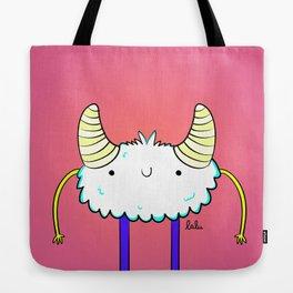 Lovely monster Tote Bag