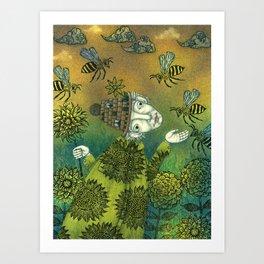 The Beekeeper Art Print