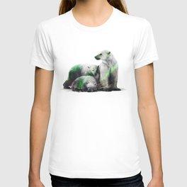 Arctic Polar Bear Family T-shirt