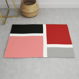 Colorful rectangles 2 Rug