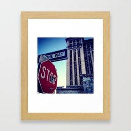 START | Corktown, Detroit Framed Art Print