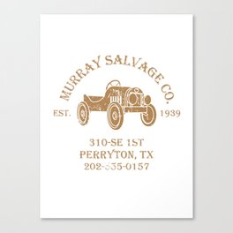 Murray Salvage Co. Canvas Print