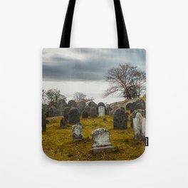 Old Burial Hill, Salem, MA Tote Bag