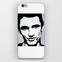 james franco iPhone & iPod Skins featuring James Franco by Katy Rose