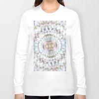 kaleidoscope Long Sleeve T-shirts featuring kaleidoscope by abbykaye