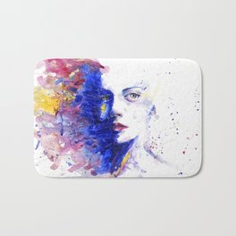 Colourful painting of women Bath Mat