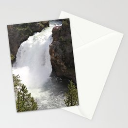 Grand Canyon Of The Yellowstone Lower Falls Stationery Cards