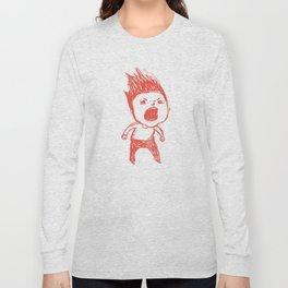 Angry Guy Long Sleeve T-shirt