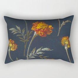 Vintage Marigolds Rectangular Pillow
