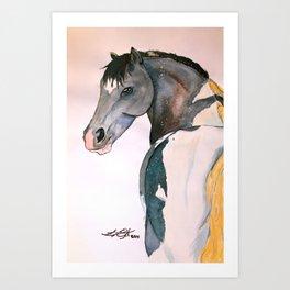 Harley RDA Pony Art Print