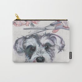 My dog groomer | By Sarah Cannon Carry-All Pouch
