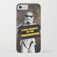 storm trooper iPhone & iPod Cases featuring Storm Trooper by ZeebraPrint