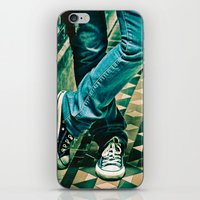 converse iPhone & iPod Skins featuring Icon Converse by Sparrow House Photography