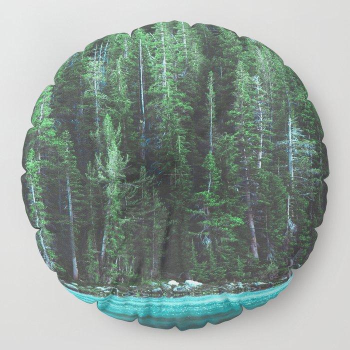 Forest 3 Floor Pillow